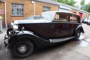 Black Rolls Royce