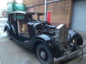 1939 Rolls Royce Restoration