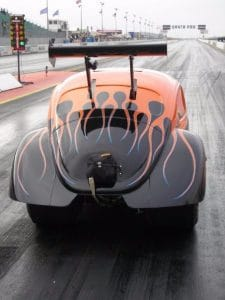 Custom V Beetle Santa Pod