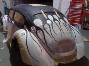 Custom V8 Beetle
