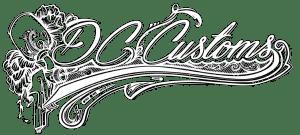 DC Customs white-logo