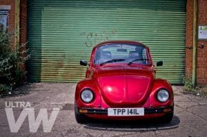 Candy Apple Red Beetle Front