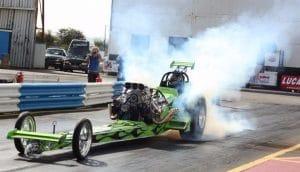 Dragster Smoke