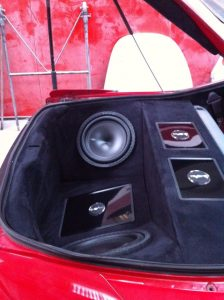 Mitsubishi Eclipse Boot Build Speakers
