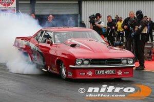 Red victor smoke