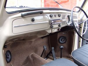Savannah Beige Beetle Interior