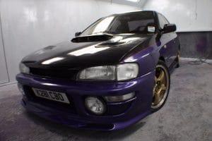 Subaru Blue