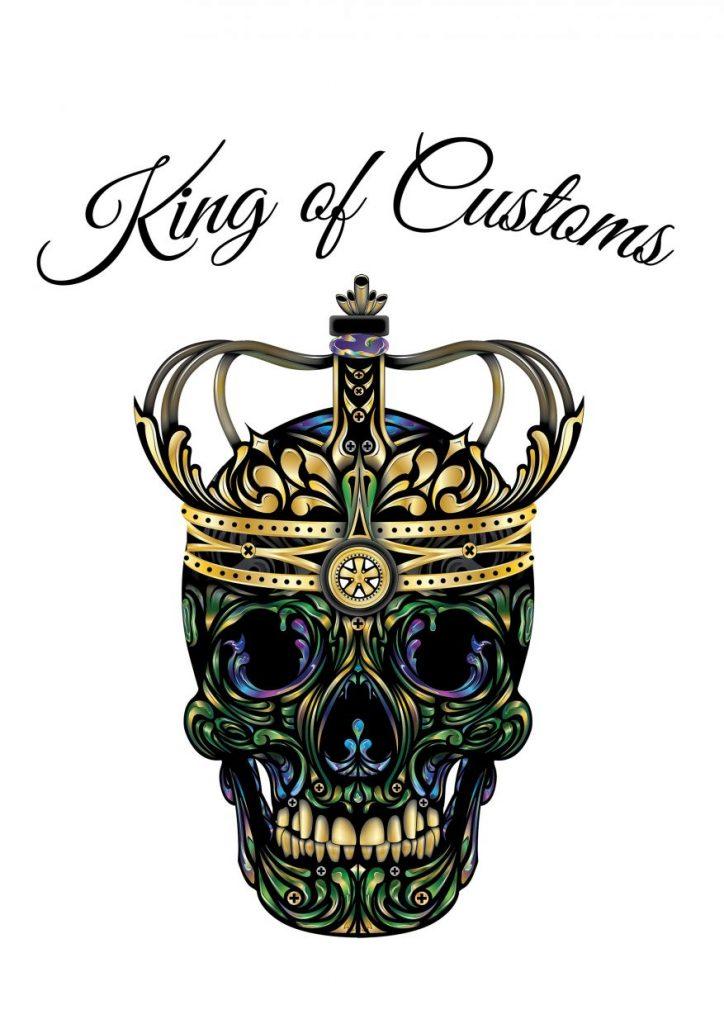Colour Skull Crown