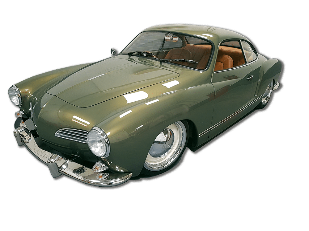 Green Karmann Ghia