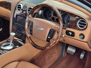 Interior of Bentley Flying Spur Decadence