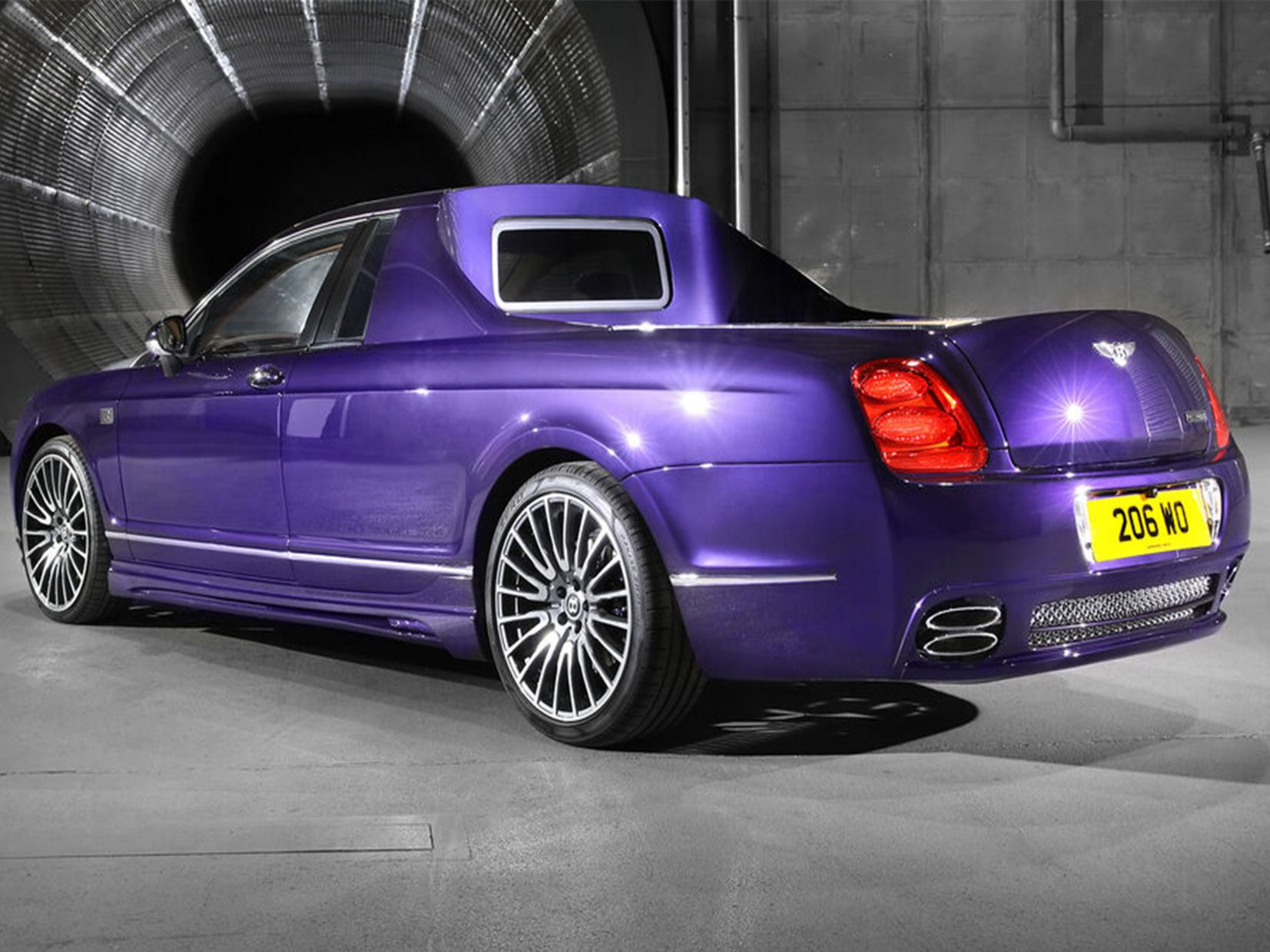 back of transformed Bentley full size 2